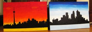 Toronto and Minneapolis paintings
