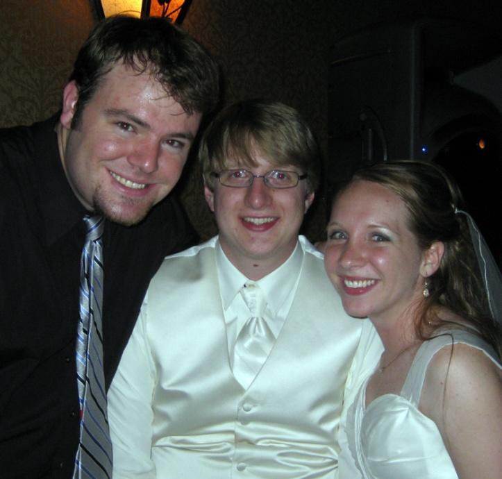 Me with Joe and Krista Allen