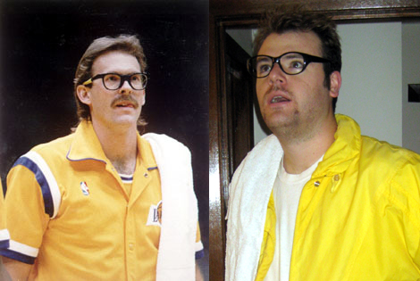 My best Kurt Rambis costume