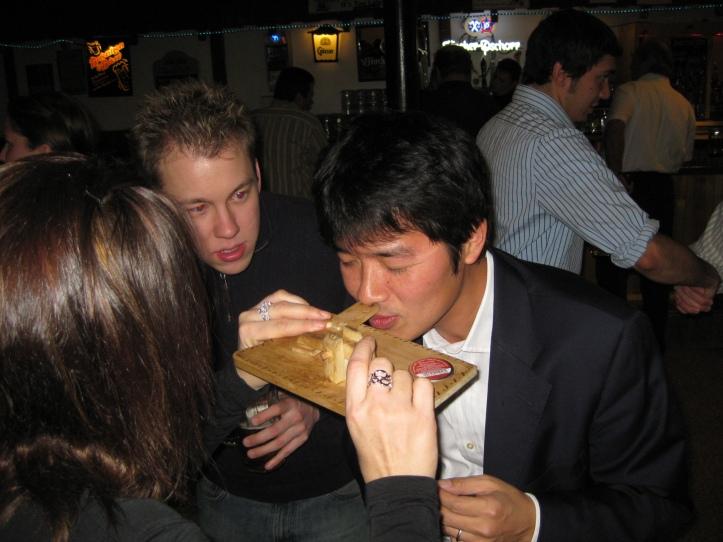 Shinichi Yamaguchi snuff German bar Minneapolis