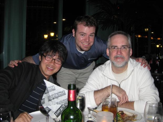 Shin, Ryan, John