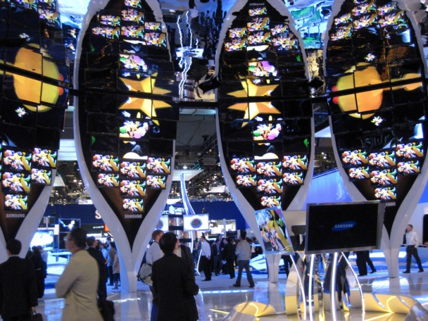 Panasonic's booth at CES