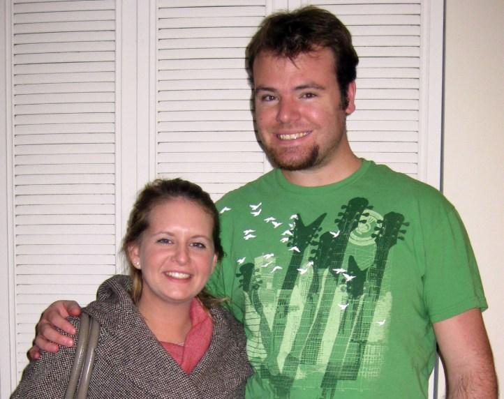 Ryan Glanzer and Kyla Madsen