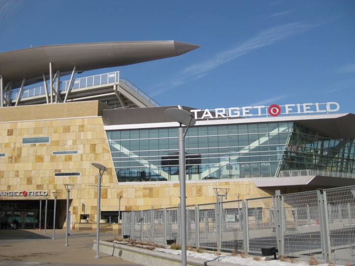 Target Field main entrance