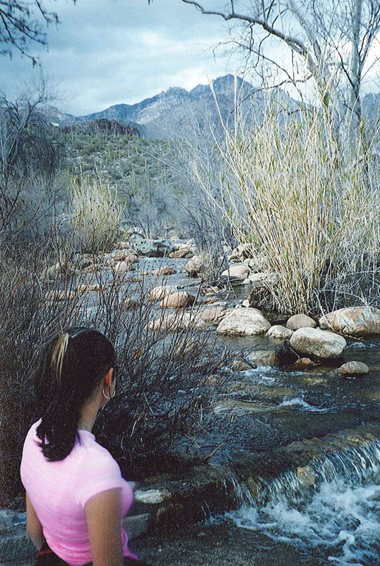 Gloria Colchado at an Arizona state park... one of the best pictures I've ever taken!