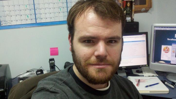 Ryan growing a beard