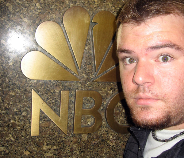 NEW YORK: Visiting NBC at 30 Rockefeller Plaza
