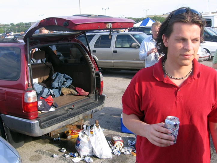 WISCONSIN: Tailgating before a Twins/Brewers game.