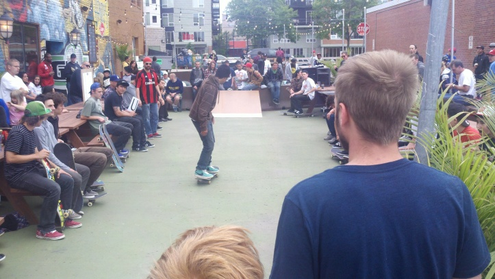 Open Street Herkimer Skateboarding Contest, June 12, 2011, Minneapolis
