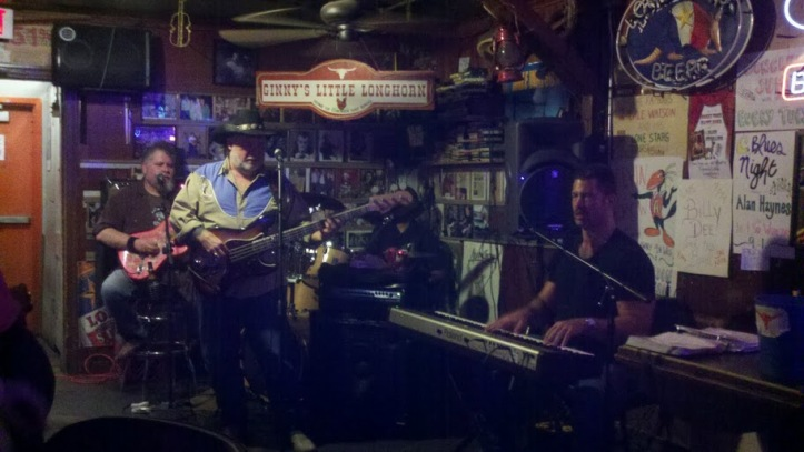 Billy Dee plays at Ginny's Little Longhorn Saloon