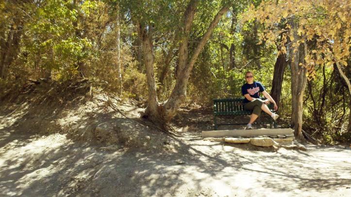 Lauren goes hiking in Austin