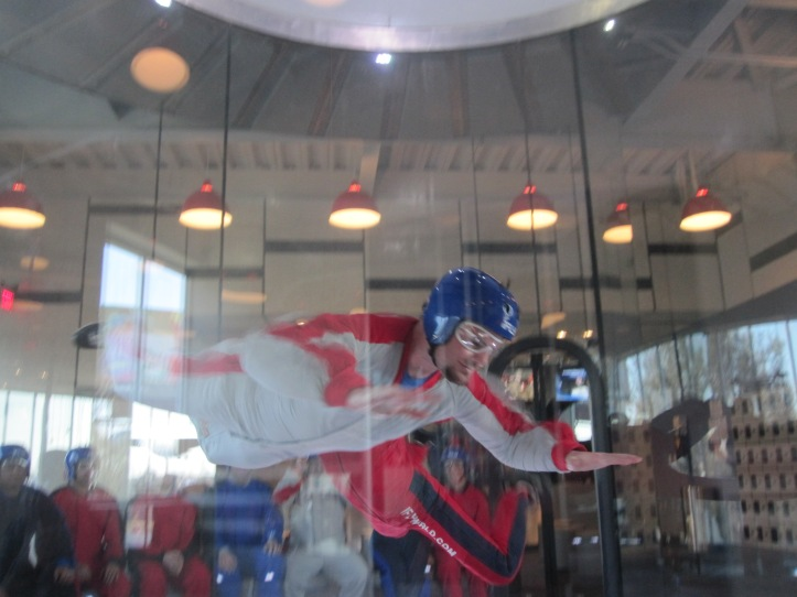 Ryan Glanzer iFly Austin Texas