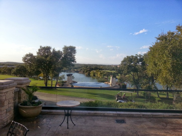 A picturesque view of the Avery Ranch Golf Club of Austin.