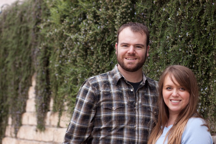 Lauren and I six years after our first date. Who'd have ever thought this wild stallion could be tamed.