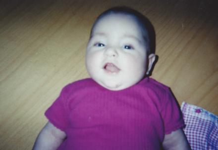 Baby Peyton... Jordan's newborn photography skills had to start somewhere!
