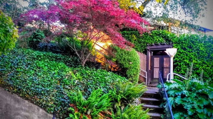 An enhanced image of our rental property. Couldn't have asked for anything more picturesque.