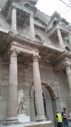 At the Pergamon Museum.