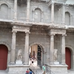 At the Pergamon Museum.