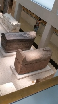 At the Neues Museum.