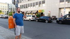 Hey, you're allowed to drink beer on the streets here!