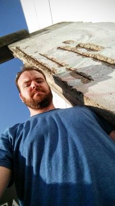 Me at the Berlin Wall.