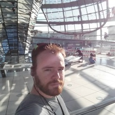 At the Reichstag Building.