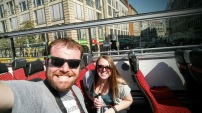 Hop-on-hop-off bus tour in Berlin