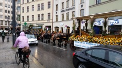 The Oktoberfest horses delivering they day's beer!!!