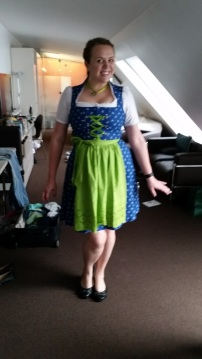 Lauren in her dirndl