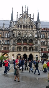 Fun on the Munich bus tour.