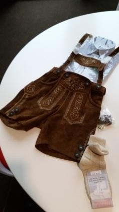 Toddler lederhosen... purchased!