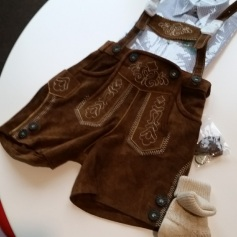 Toddler lederhosen... purchased!